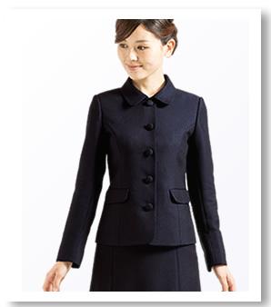 お受験スーツ